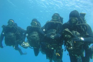 Commando Hubert, WRX A and rebreathers.